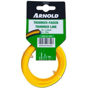Arnold Trimmerdraad (1082-U1-0001) grastrimmer draad 15 meter, 1,3mm, rond (4049582986407)